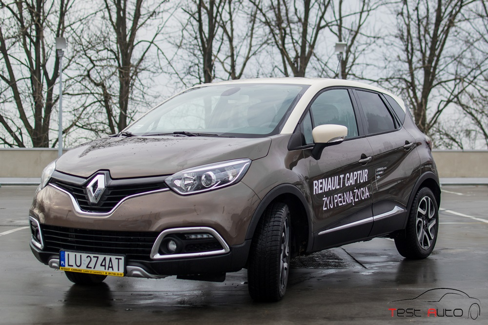 test renault captur 1 2 tce 120 edc intens lubimy samochody. Black Bedroom Furniture Sets. Home Design Ideas