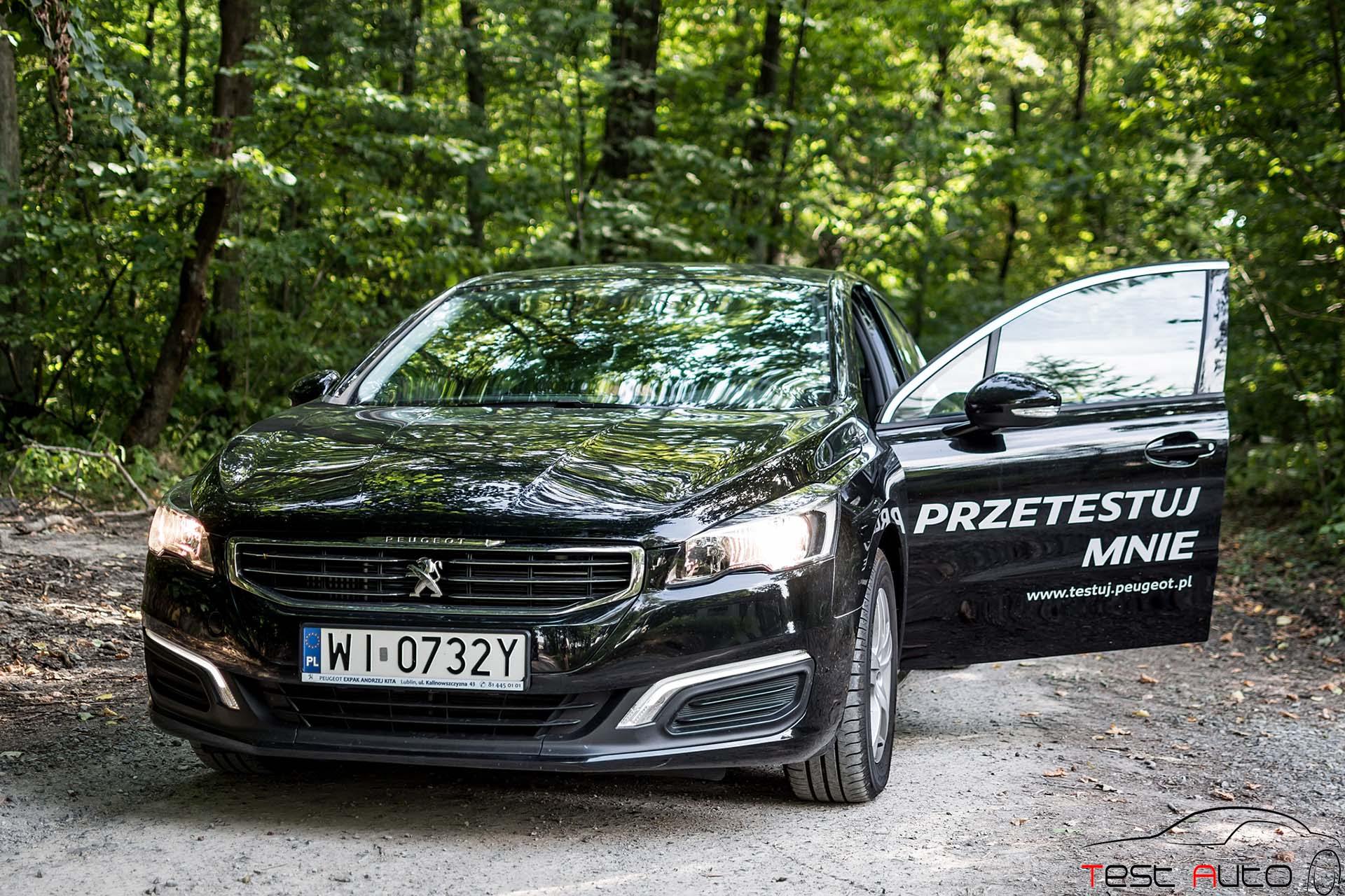2015 peugeot 508 1 6 e thp 165 km s s fot jakub baltyn 28 test auto. Black Bedroom Furniture Sets. Home Design Ideas