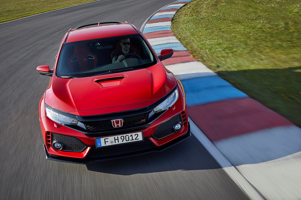 honda civic type r 2017 010 test auto. Black Bedroom Furniture Sets. Home Design Ideas