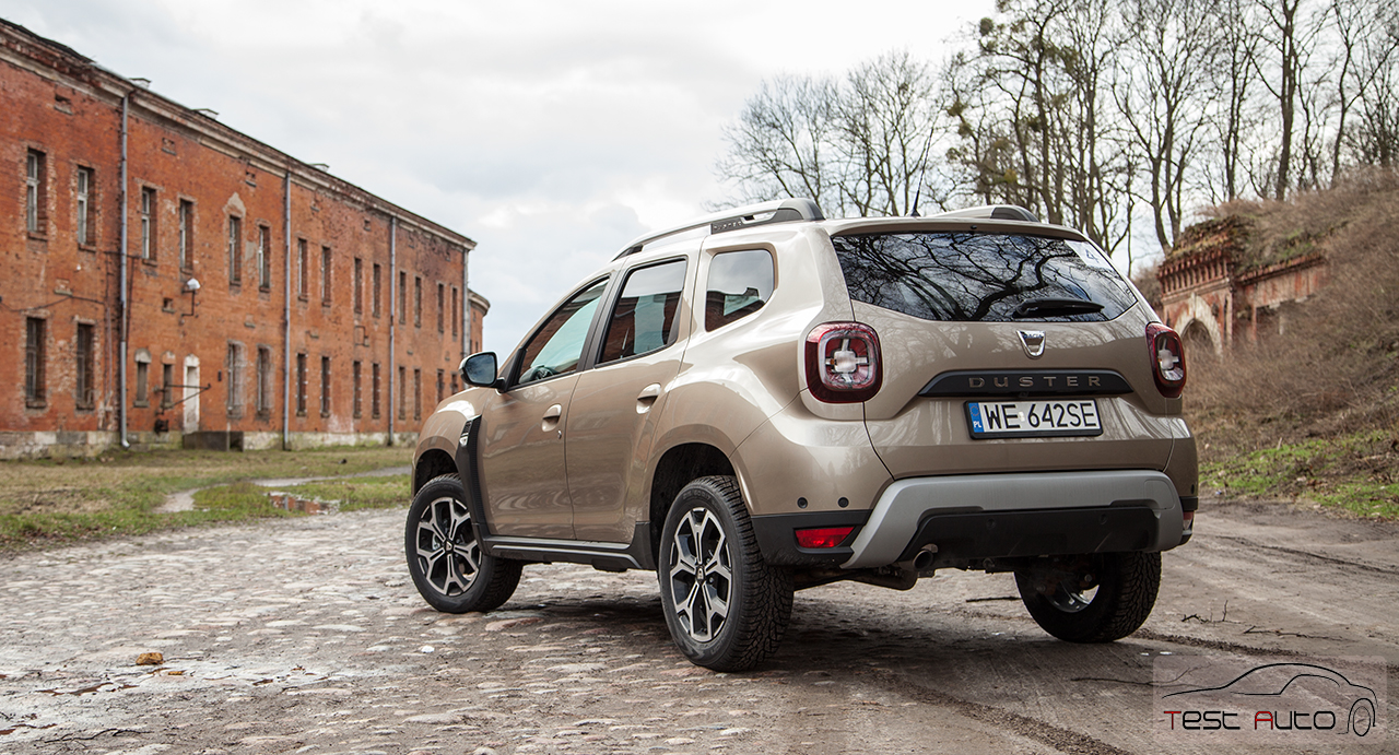 test nowa dacia duster 1 2 tce 4x4 lider suv w dosta now twarz. Black Bedroom Furniture Sets. Home Design Ideas